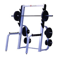 Quantum QWT-106 Squat Rack with Plate Rack