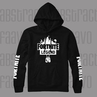 Fortnite Legend Youth Gaming Kids Pullover Hoodie