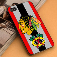 Chicago Blackhawks Stanley Cup Champion Logo - iPhone 4/4s,5,5s,5c and Samsung S2,S3,S4 - Plastic Rubber
