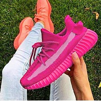 ADIDAS YEEZY 350 BOOST Shoes Pink SHOES SPORTS SNEAKERS Rose red