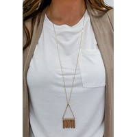 Night Shift Necklace - Natural