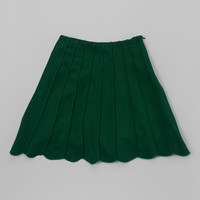 Green Panel Skirt - Girls