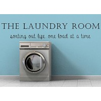 The Laundry Room - Inspirational Wall Signs