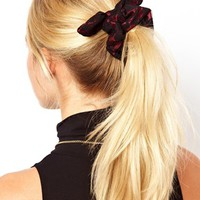Johnny Loves Rosie Lace Overlay Scrunchie at asos.com