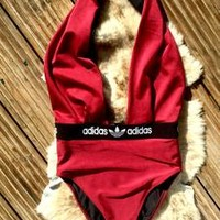 Reworked Adidas Swimsuit