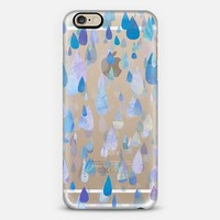 Happy Raindrops iPhone 6 case by Tracey Coon | Casetify