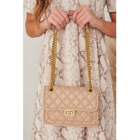 Quilt Messin' Quilted Bag (Khaki)