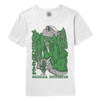 Bigfoot Yosemite Sequoia Supporter Tee