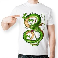 Dragon Ball Z Green Dragon Short Sleeve Anime T-Shirt