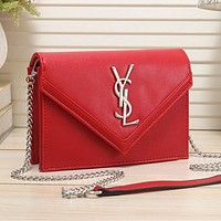 YSL Yves Saint Laurent fashion new letter gold buckle flip crossbody bag shoulder bag shopping bag