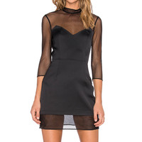SAYLOR Jordan Dress in Black