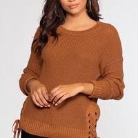 Rylee Sweater - Camel