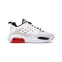 Air Jordan Men's Air Max 200 White Challenge Red Black