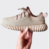 Tagre™ Adidas Women Yeezy Boost Sneakers Running Sports Shoes Grey
