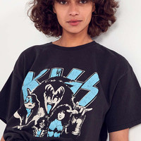 Junk Food Classic KISS Tee   Urban Outfitters