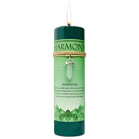 Harmony Candle with Aventurine Point Pendent