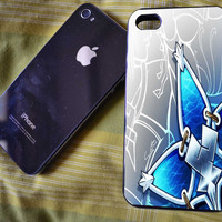 Kingdom Hearts Aqua Wayfinder Case for iPhone 4/4S iPhone 5/5S/5C and Samsung Galaxy S3/S4