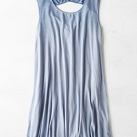 AEO Women's Swing Tank Dress (Blue)
