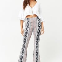 Floral Ornate Knit Pants