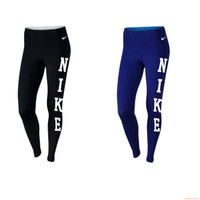 Nike Pro Leg-a-See Club Leggings JDI Rally Printed Black NWT Cotton Spandex