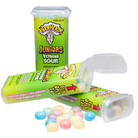 WarHeads Juniors Extreme Sour Candy Packs: 18-Piece Display
