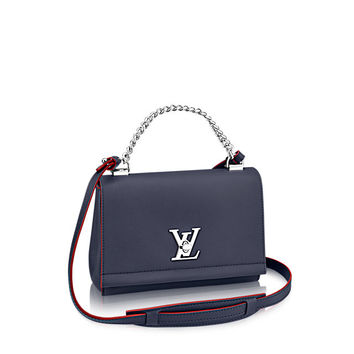 Products by Louis Vuitton: LOCKME II BB RUBIS