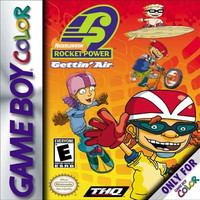 Rocket Power Getting Air - GameBoy Color (Game Only)