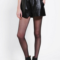 Evil Twin Resistance Vegan Leather Runner Short - Urban Outfitters