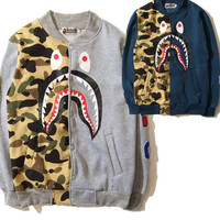 BAPE Letterman Baseball Jacket