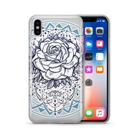 Mystic Rose - Clear Case Cover