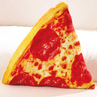 Food Shape Pillows. Pizza Pillow. Fun Pillow for Any Age.