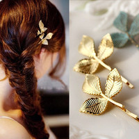 Clover retro hairpins