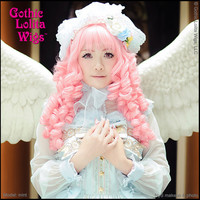 Gothic Lolita Wigs®  Ringlet Redux™ Collection - Deep Pink -00122