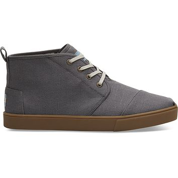 TOMS - Venice Collection Shade Heritage Canvas Men's Cupsole Boots
