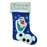 Disney Frozen Olaf ''Merry Christmas'' Stocking