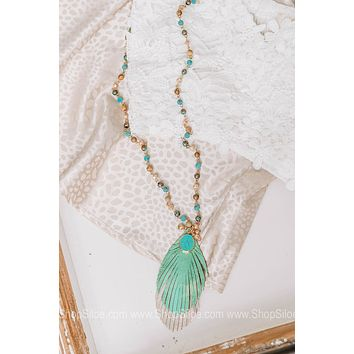 Light As A Feather Beaded Necklace