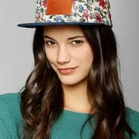 Reason Floral 5-Panel Camp Hat- Blue Multi One