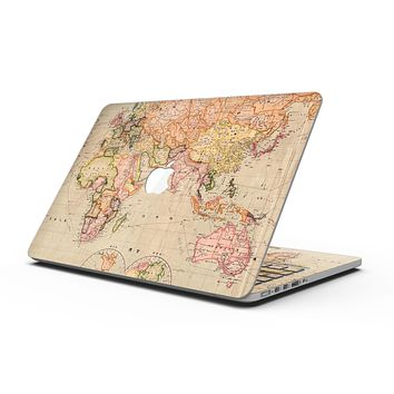The Eastern World Map - MacBook Pro with Retina Display Full-Coverage Skin Kit