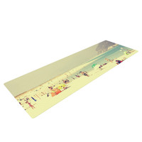 "Ingrid Beddoes ""Lazy Days"" Summer Beach Yoga Mat"