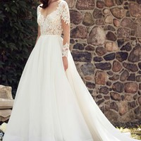 Romantic A-line Wedding Dress | Kleinfeld Bridal