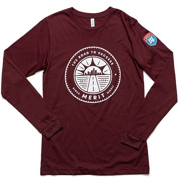 The Road to Success Long Sleeve Tee