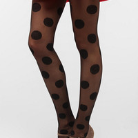 Urban Outfitters - Pretty Polly Dolly Polka Dot Tight