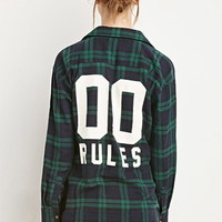 00 Rules Plaid Flannel