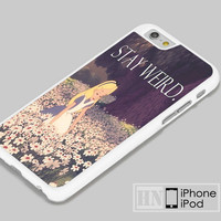Stay Weird Alice in Wonderland iPhone iPod Cases, Samsung Cases, HTC one Cases, LG Cases