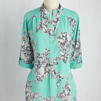 Cook Lively! Top in Turquoise