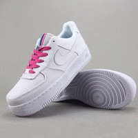 Trendsetter Nike Air Force 1 Upstep    Women Men Fashion Casual Old Skool Low-Top  Shoes