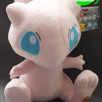 "Free shipping Anime Pokemon Character 12"" Mew Plush Toy Stuffed Animal Doll Mewtwo"