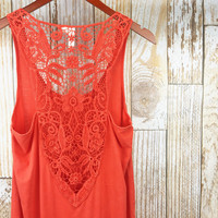 Solace Dress POPPY RED
