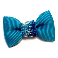 Precious Top Knot Bow — Fancy Ocean