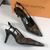 Louis Vuitton LV Classic high heels